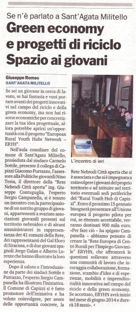 Gazzetta del Sud (12 gennaio 2014)